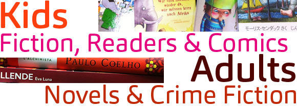 Novels & Comics for little kids and big kids at Abbey's 131 York Street, Sydney