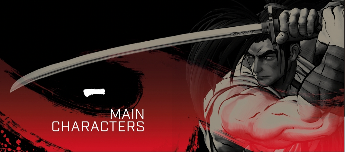 THE ART OF SAMURAI SHODOWN Characters - at Abbey's Bookshop