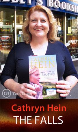 The Falls by Cathryn Hein at Abbey's Bookshop 131 York Street, Sydney