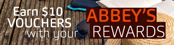 Abbey's Rewards - Earn a $10 Rewards Voucher for every $200 spent