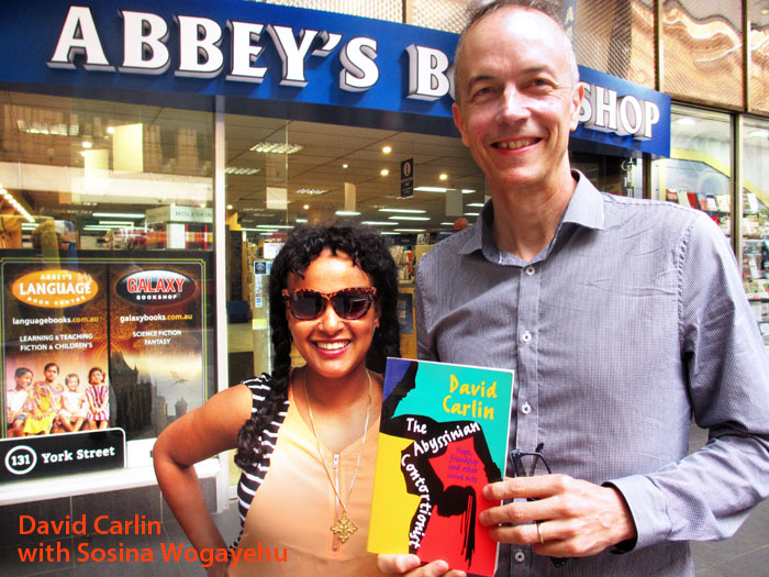 The Abyssinian Contortionist: Hope, Friendship and Other Circus Acts by David Carlin at Abbey's Bookshop 131 York Street, Sydney