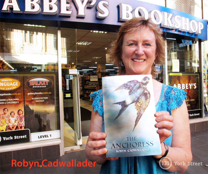 The Anchoress by Robyn Cadwallader at Abbey's Bookshop 131 York Street, Sydney