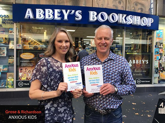 Anxious Kids by Michael Grose and Doctor Jodi Richardson at 131 York Street Sydney