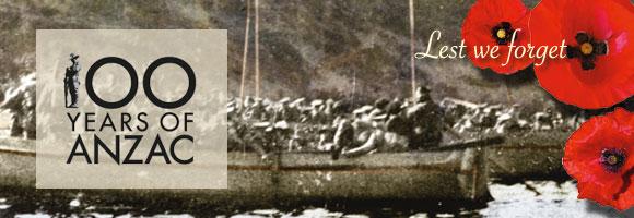 Anzac Centenary 2015
