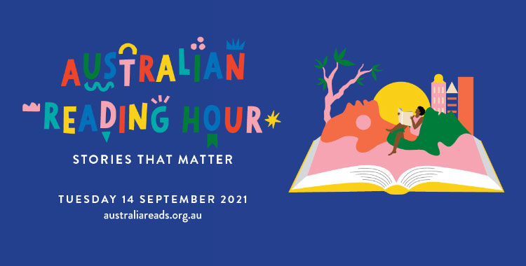 Find out more about Australian Reading Hour events - image Link to their site