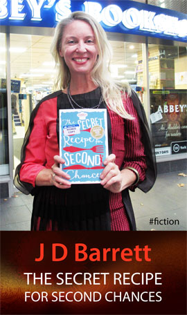 The Secret Recipe for Second Chances by J.D. Barrett