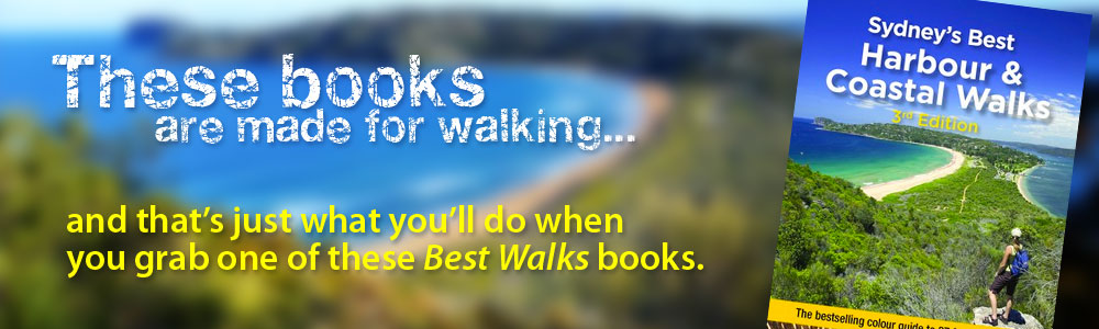 You could win one of the books from the Best Walks series at Abbey's Bookshop