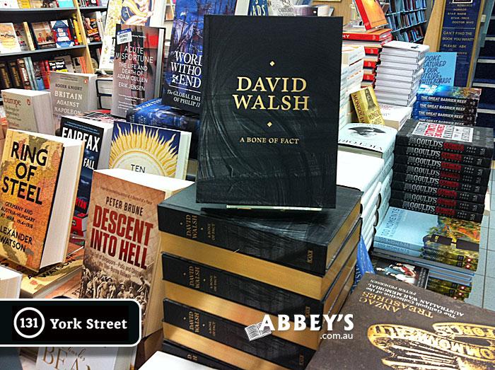 A Bone of Fact by David Walsh at Abbey's Bookshop 131 York Street, Sydney