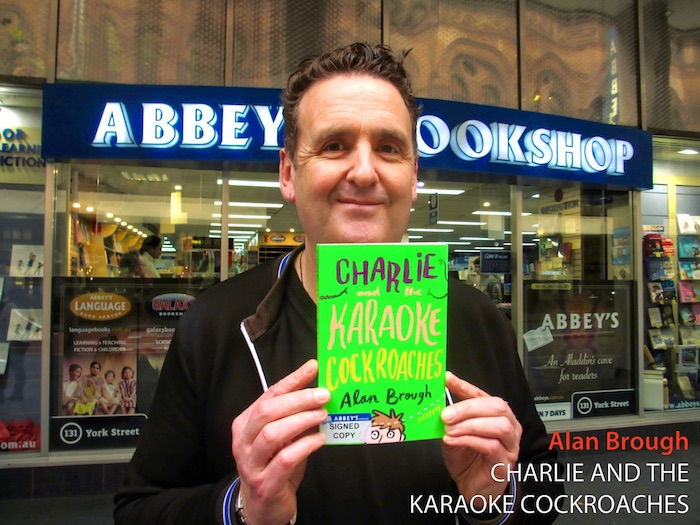 Charlie and the Karaoke Cockroaches by Alan Brough at 131 York Street Sydney