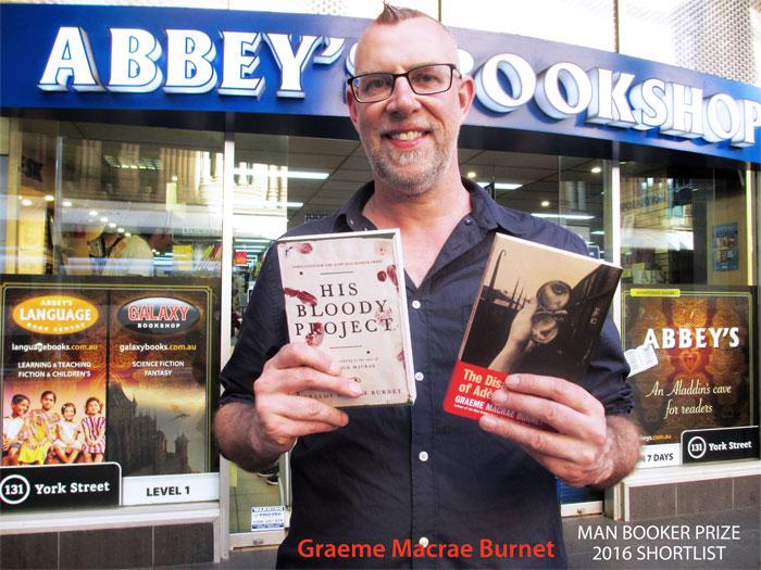 Graeme Macrae Burnet at 131 York Street Sydney