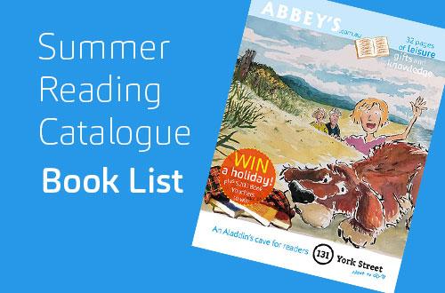 Summer Reading Catalogue Book List