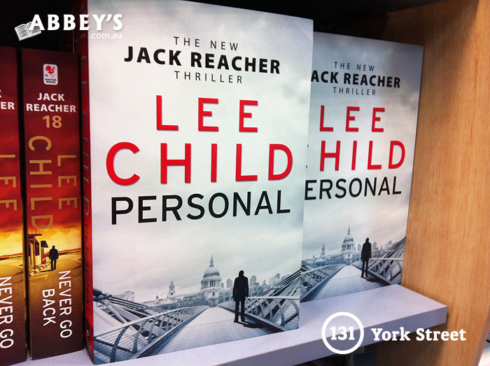 Personal: Jack Reacher #19 by Lee Child at Abbey's Bookshop 131 York Street, Sydney