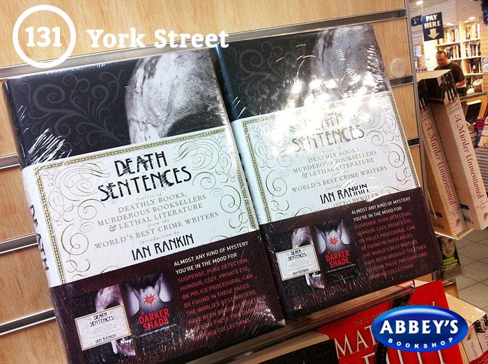 Death Sentences at Abbey's Bookshop 131 York Street, Sydney