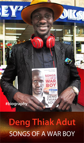 Songs of a War Boy: My Story by Deng Thiak Adut at Abbey's Bookshop 131 York Street Sydney
