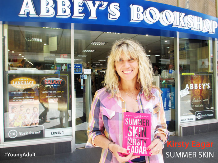 Summer Skin by Kirsty Eagar at Abbey's Bookshop 131 York Street, Sydney
