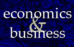 Books on economics and business in stock at Abbey's