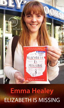Elizabeth is Missing by Emma Healey at Abbey's Bookshop 131 York Street, Sydney