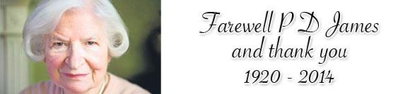 Farewell P D James