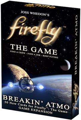 Firefly Breakin' Atmo Card Game Expansion Set at 131 York Street, Sydney