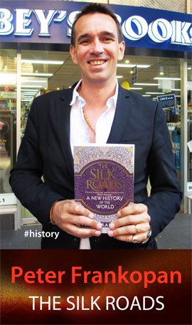 The Silk Roads: A New History of the World by Peter Frankopan at Abbey's Bookshop 131 York Street Sydney