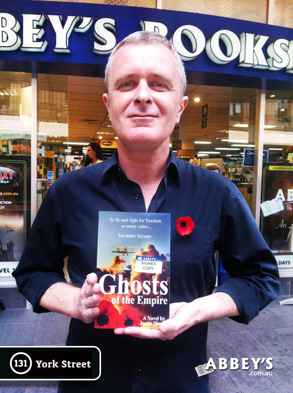 Ghosts of the Empire by Justin Sheedy at Abbey's Bookshop 131 York Street, Sydney