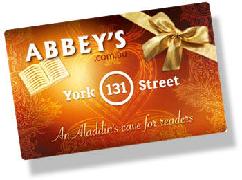 Gift Cards at Abbey's Bookshop 131 York Street, Sydney