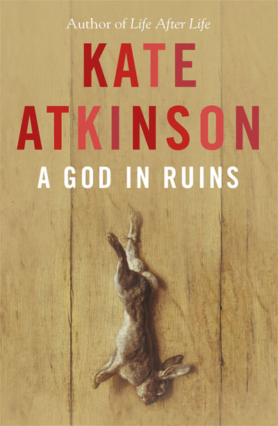 A God in Ruins by Kate Atkinson at Abbey's Bookshop 131 York Street, Sydney