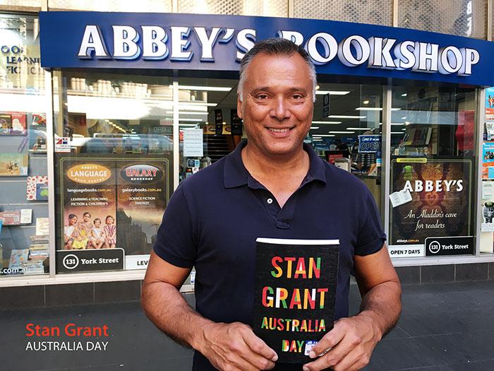 AUSTRALIA DAY by Stan Grant at 131 York Street Sydney