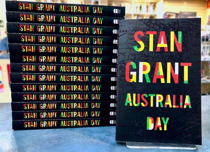 AUSTRALIA DAY by Stan Grant at 131 York Street Sydney