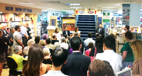 Coming of Age: Growing up Muslim in Australia Book Launch at Abbey's Bookshop 131 York Street, Sydney