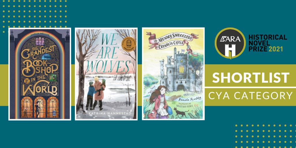 The HNSA ARA Historical Novel Prize CHILDREN YA CATEGORY - SHORTLIST