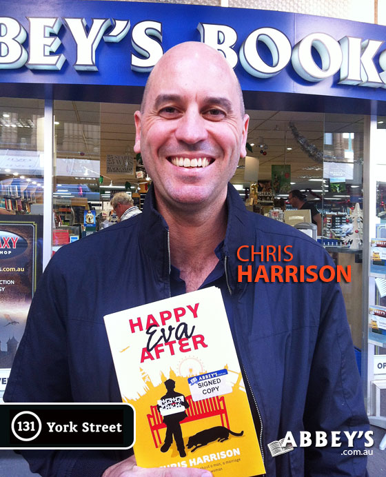 Chris Harrison at Abbey's Bookshop 131 York Street, Sydney