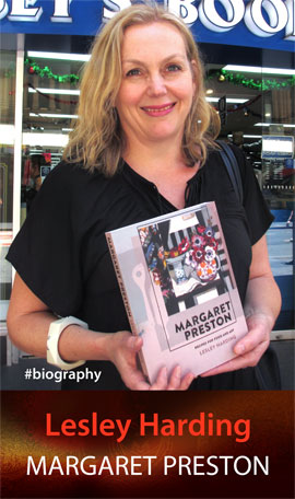 Margaret Preston: Recipes for Food and Art by Lesley Harding at 131 York Street Sydney
