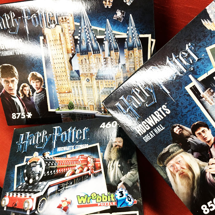 Harry Potter Puzzles at 131 York Street Sydney