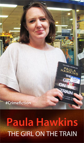 The Girl on the Train by Paula Hawkins at Abbey's Bookshop 131 York Street Sydney