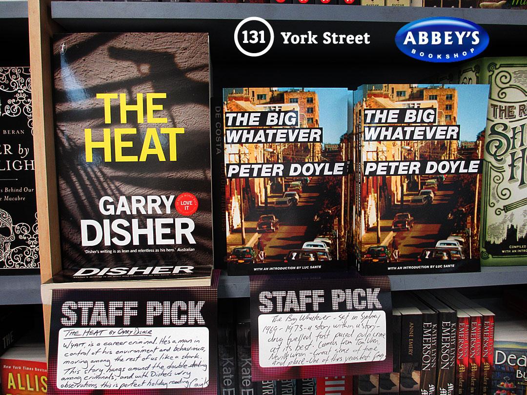 The Heat at Abbey's Bookshop 131 York Street, Sydney