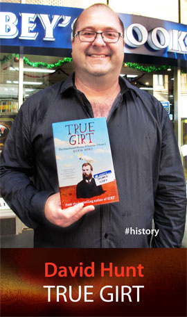 True Girt: The Unauthorised History of Australia at Abbey's Bookshop 131 York Street Sydney