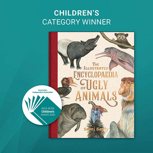 INDIE AWARDS 2020 - CHILDREN'S WINNER - image link to the book