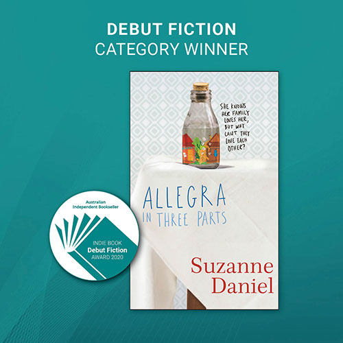 INDIE AWARDS 2020 - DEBUT-FICTION WINNER - image link to the book