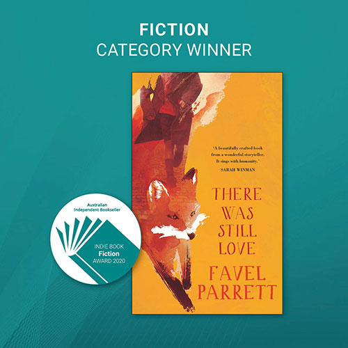 INDIE AWARDS 2020 - FICTION WINNER - image link to the book