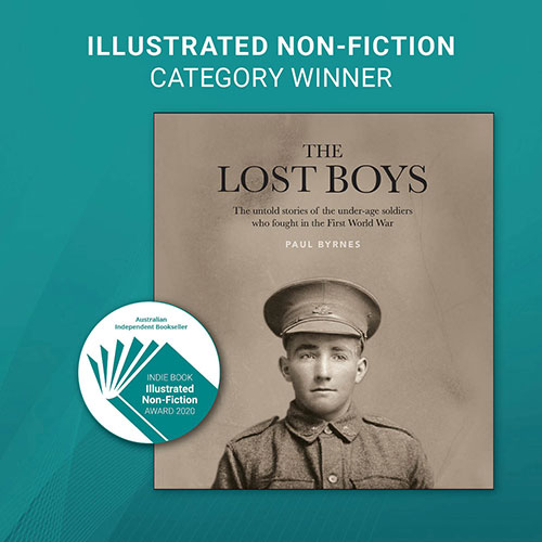 INDIE AWARDS 2020 - ILLUSTRATED NON-FICTION WINNER - image link to the book