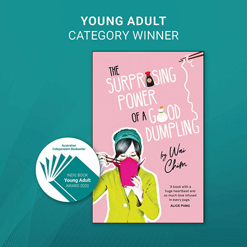 INDIE AWARDS 2020 - YOUNG ADULT WINNER - image link to the book