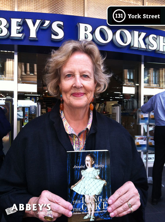 The Icing on the Cake by Annabel Morley at Abbey's Bookshop 131 York Street, Sydney