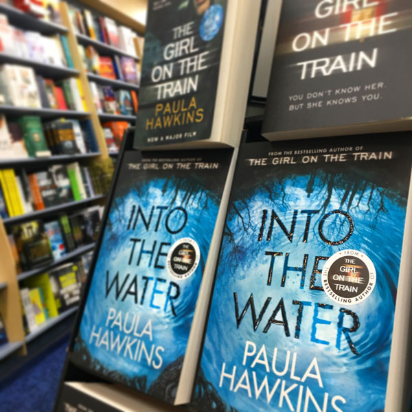 Into the Water by Paula Hawkins at 131 York Street Sydney