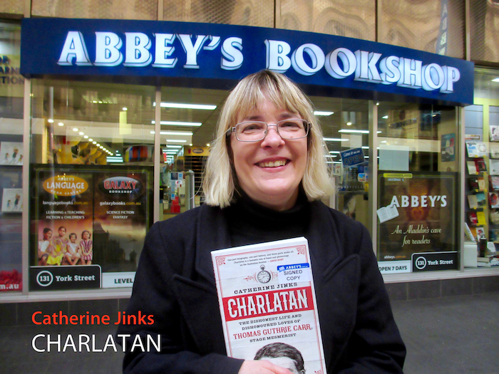 Charlatan by Catherine Jinks at 131 York Street Sydney