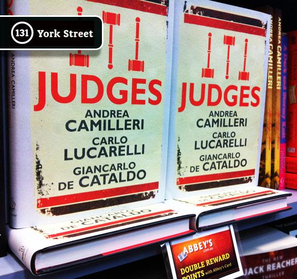 Judges at Abbey's Bookshop 131 York Street, Sydney