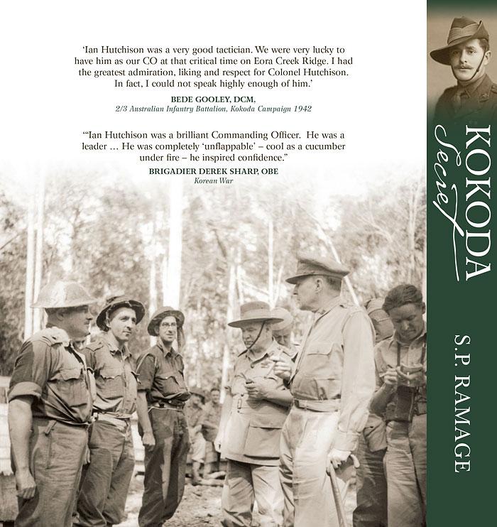 Kokoda Secret: Ian Hutchison Australian Hero by S P Ramage at Abbey's Bookshop 131 York Street, Sydney