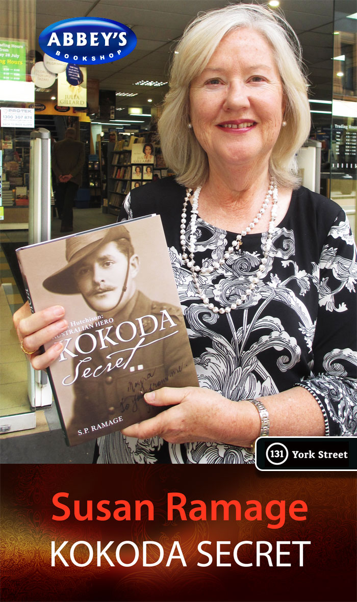 Kokoda Secret by S P Ramage at Abbey's Bookshop 131 York Street, Sydney