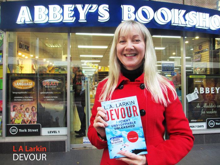 L A Larkin at Abbey's Bookshop 131 York Street Sydney