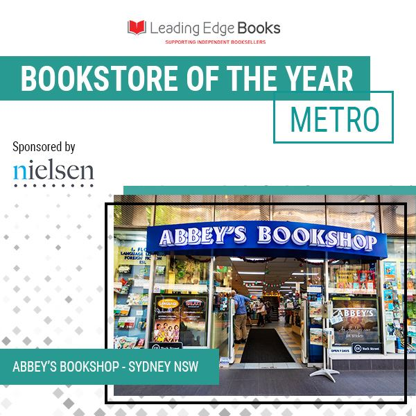 Bookstore of the Year - photo of Abbey's Bookshop store front